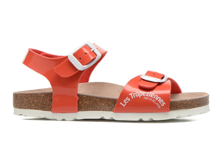 Sandales et nu-pieds Les Tropéziennes par M Belarbi Prune Rose vue derrière