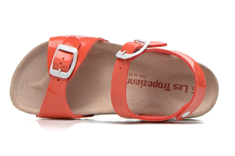 Sandales et nu-pieds Les Tropéziennes par M Belarbi Prune Rose vue gauche