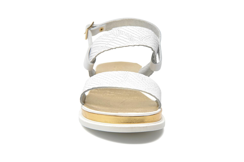 Sandales et nu-pieds Sweet Lemon L.8 Petula Blanc vue portées chaussures