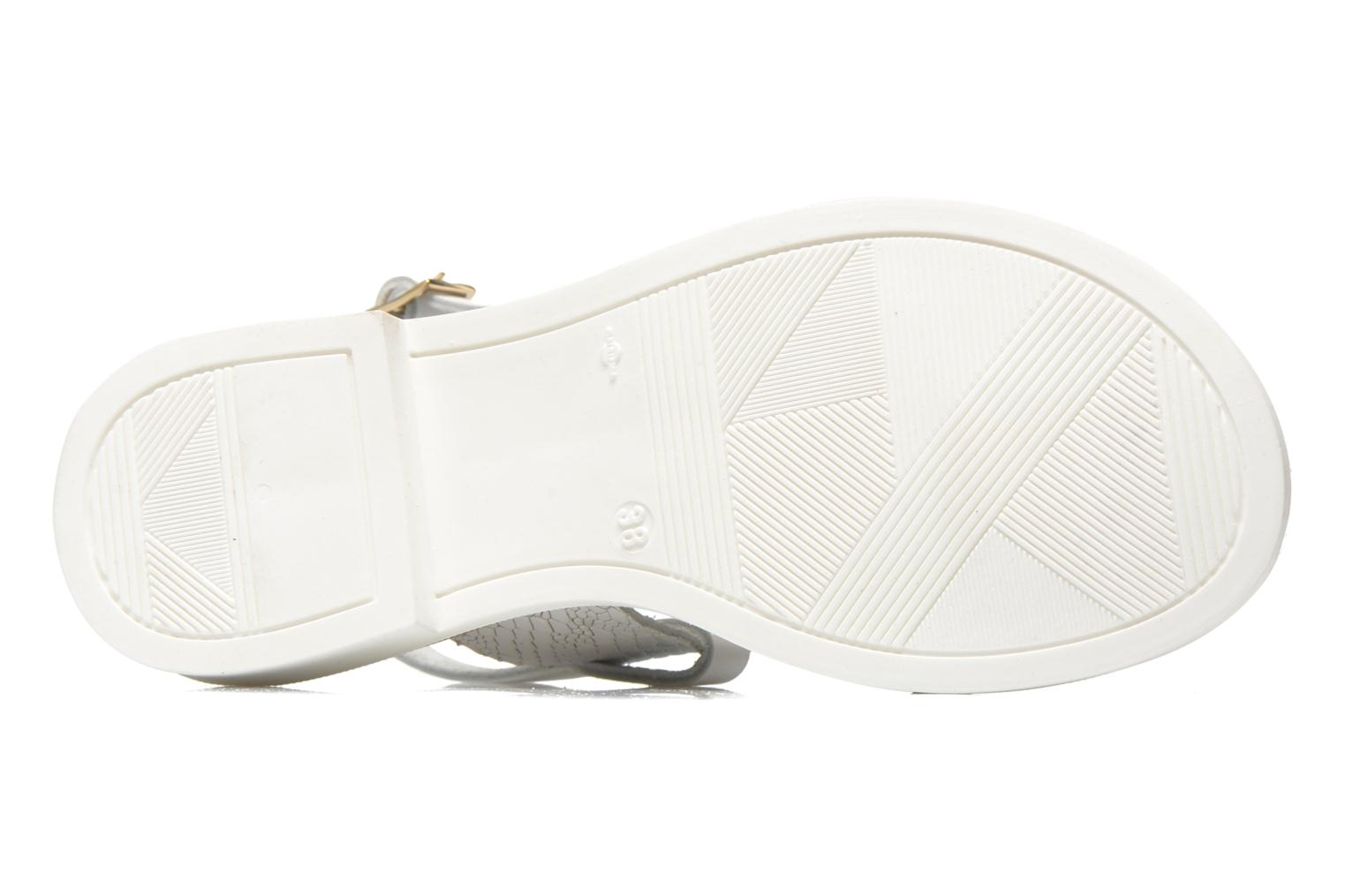 Sandals Sweet Lemon L.8 Petula White view from above