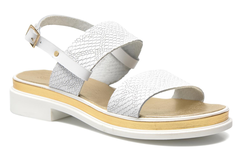 Sandales et nu-pieds Sweet Lemon L.8 Petula Blanc vue détail/paire