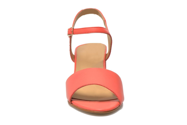 Sandales et nu-pieds Georgia Rose Lubul Orange vue portées chaussures