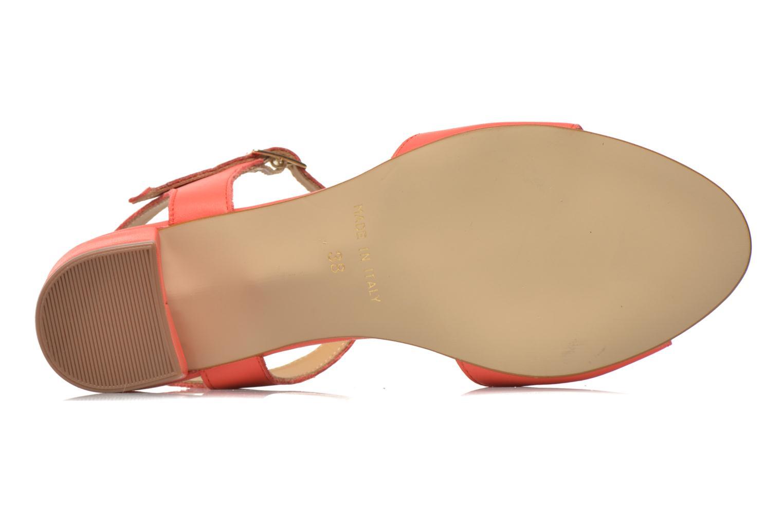 Sandales et nu-pieds Georgia Rose Lubul Orange vue haut