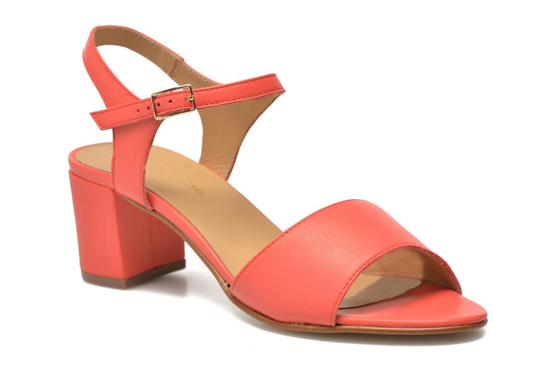Sandales et nu-pieds Georgia Rose Lubul Orange vue détail/paire