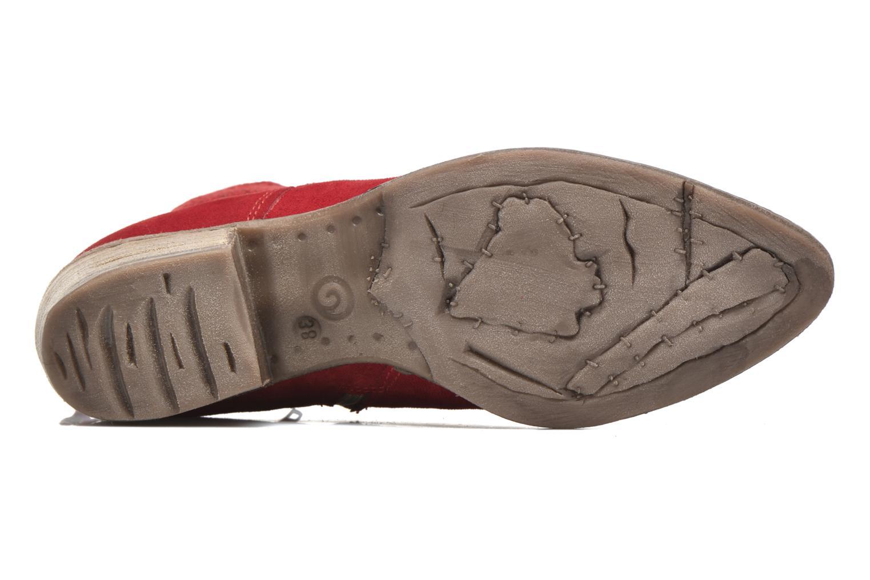 Stivaletti e tronchetti Khrio Florencia Rosso immagine dall'alto