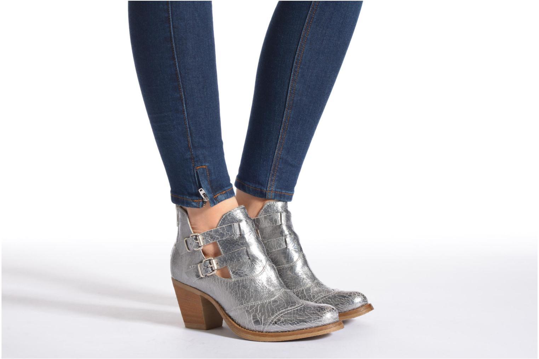 Bottines et boots Khrio Yopal Argent vue bas / vue portée sac