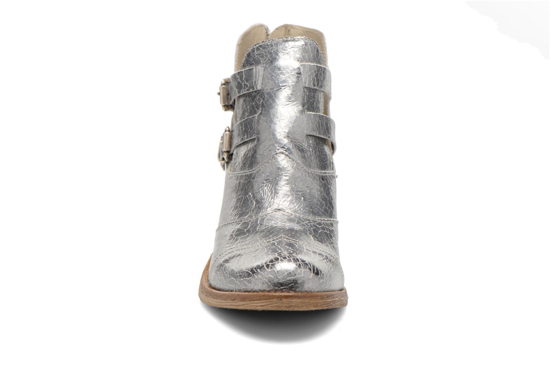 Bottines et boots Khrio Yopal Argent vue portées chaussures