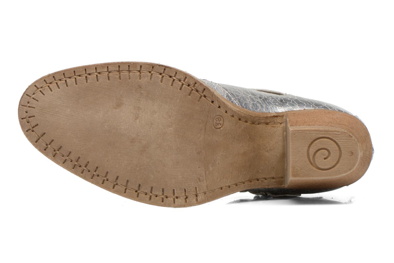Bottines et boots Khrio Yopal Argent vue haut