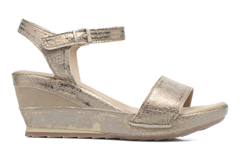 Sandales et nu-pieds Khrio Ibague Or et bronze vue derrière