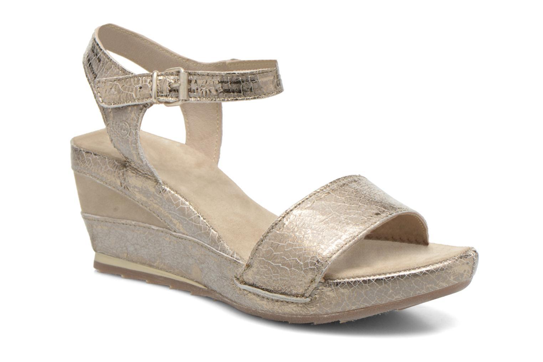 Sandales et nu-pieds Khrio Ibague Or et bronze vue détail/paire