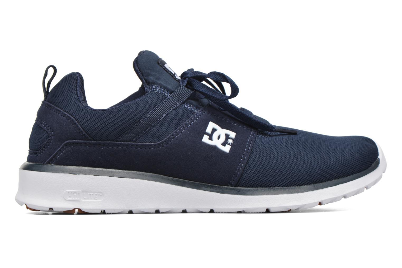 Deportivas DC Shoes Heathrow Azul vistra trasera