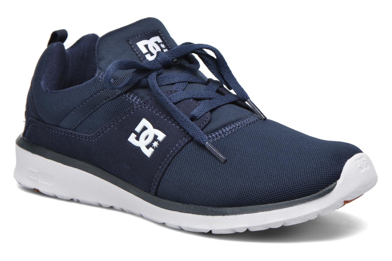 Deportivas DC Shoes Heathrow Azul vista de detalle / par