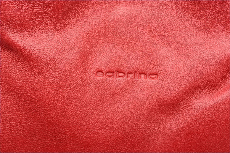 Sacs à main Sabrina Aliénor Rouge vue gauche