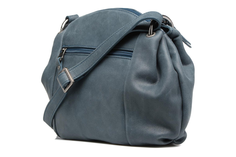Bolsos de mano Sabrina Blanche Azul vista lateral derecha