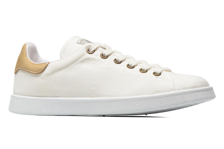 Sneakers Victoria Deportivo Basket Lona Wit achterkant