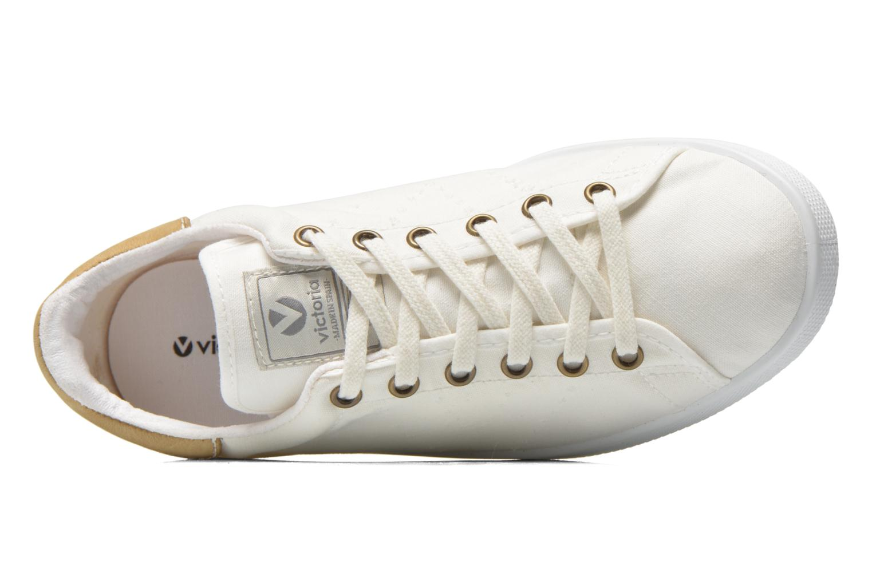 Sneakers Victoria Deportivo Basket Lona Wit links
