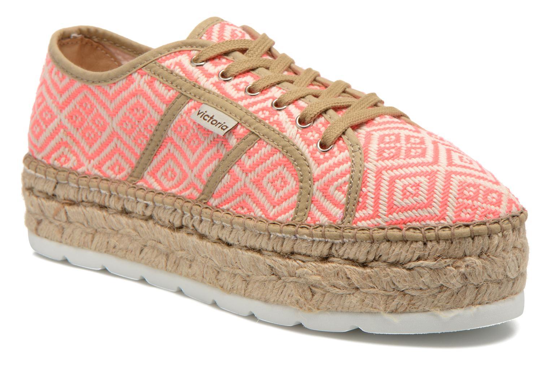Zapatos promocionales Victoria Basket Etnico Plataforma Yu (Rosa) - Zapatos con cordones   Los últimos zapatos de descuento para hombres y mujeres