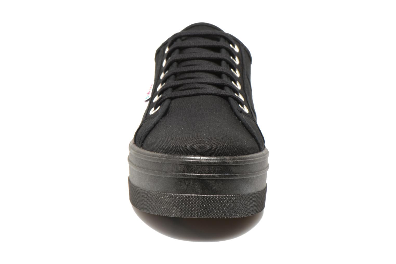 Basket Lona Plataforma Negro