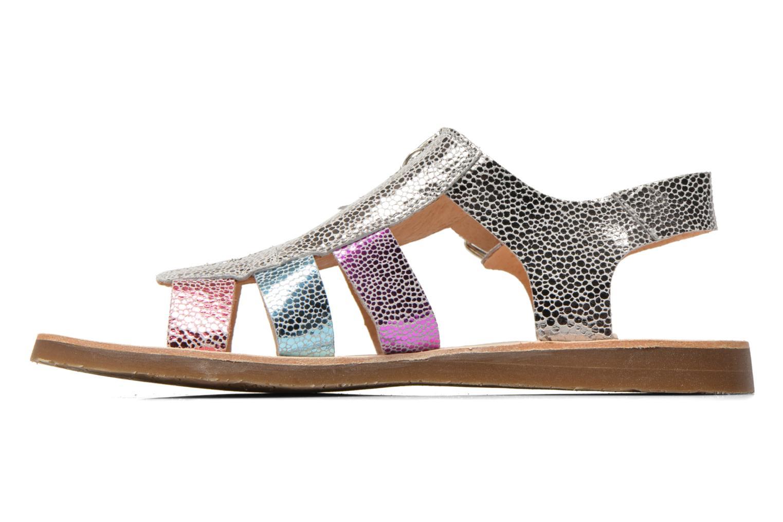 Sandales et nu-pieds Yep Daisie Multicolore vue face