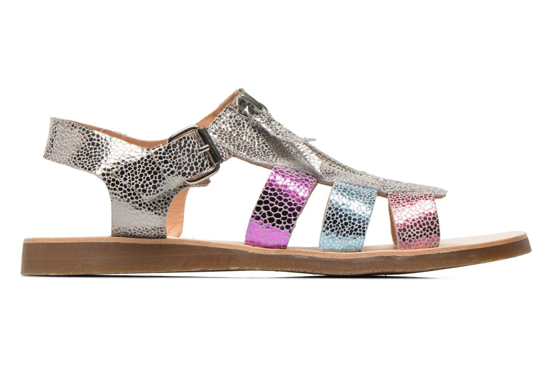 Sandales et nu-pieds Yep Daisie Multicolore vue derrière