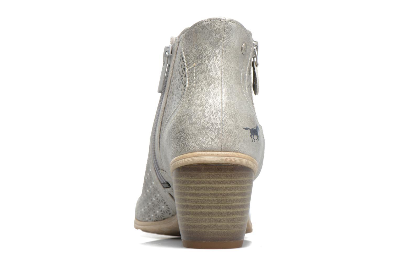 Sandali e scarpe aperte Mustang shoes Welle Argento immagine destra