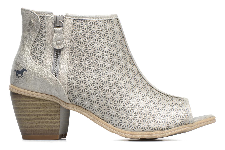 Sandali e scarpe aperte Mustang shoes Welle Argento immagine posteriore