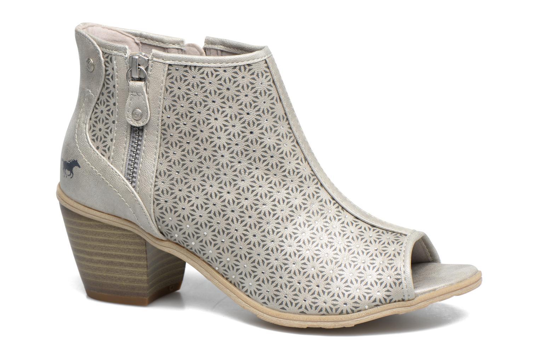 Mustang shoes Welle (Argent) - Sandales et nu-pieds chez Sarenza (310821)