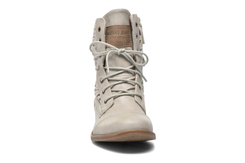 Stiefeletten & Boots Mustang shoes Freeze grau schuhe getragen