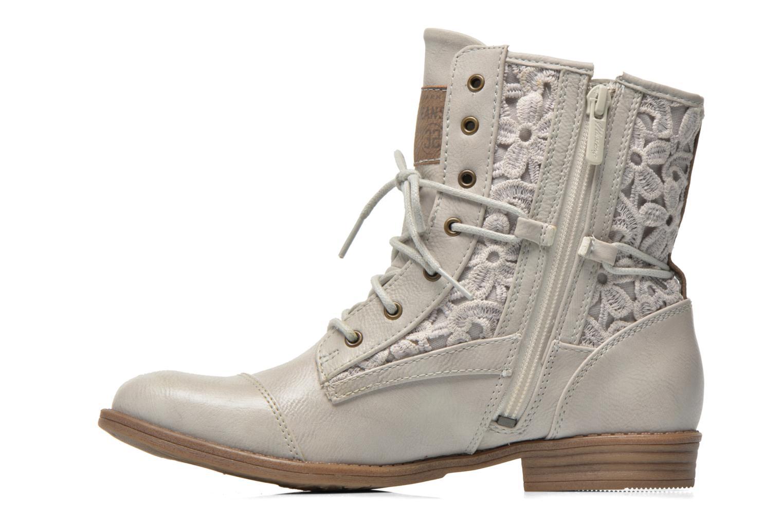 Stiefeletten & Boots Mustang shoes Freeze grau ansicht von vorne