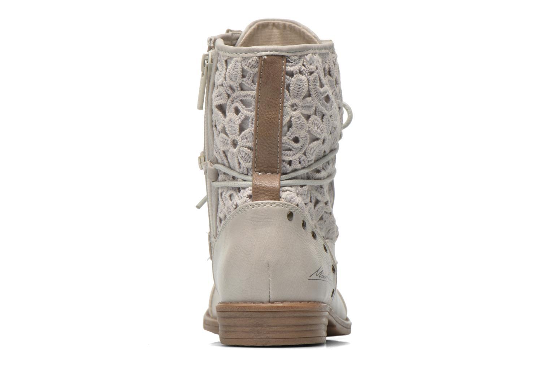 Bottines et boots Mustang shoes Freeze Gris vue droite
