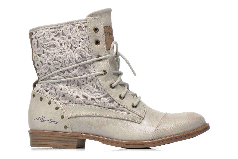 Stiefeletten & Boots Mustang shoes Freeze grau ansicht von hinten