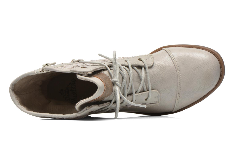 Boots en enkellaarsjes Mustang shoes Freeze Grijs links