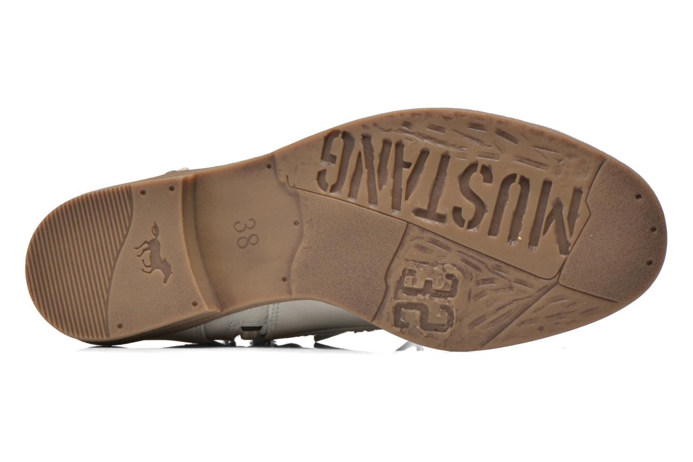 Stiefeletten & Boots Mustang shoes Freeze grau ansicht von oben