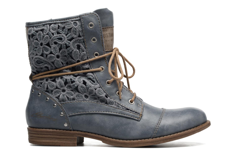 Bottines et boots Mustang shoes Freeze Bleu vue derrière
