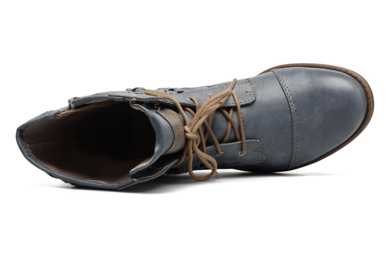 Bottines et boots Mustang shoes Freeze Bleu vue gauche