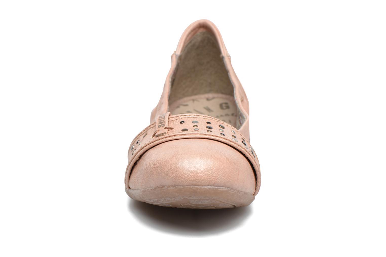 Ballerines Mustang shoes Lisle Orange vue portées chaussures