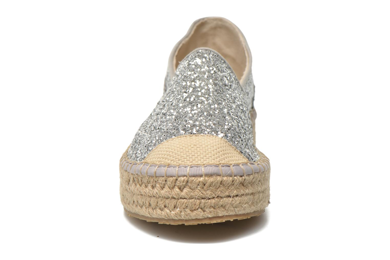 Espadrilles Mustang shoes Brouw Silver model view