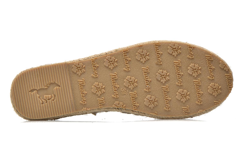 Scarpe di corda Mustang shoes Brouw Argento immagine dall'alto