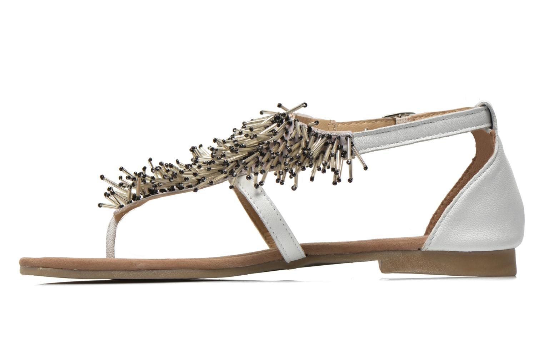 Sandales et nu-pieds Mustang shoes Hum Blanc vue face