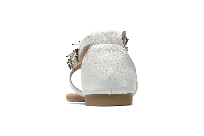 Sandales et nu-pieds Mustang shoes Hum Blanc vue droite