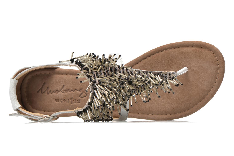 Sandales et nu-pieds Mustang shoes Hum Blanc vue gauche
