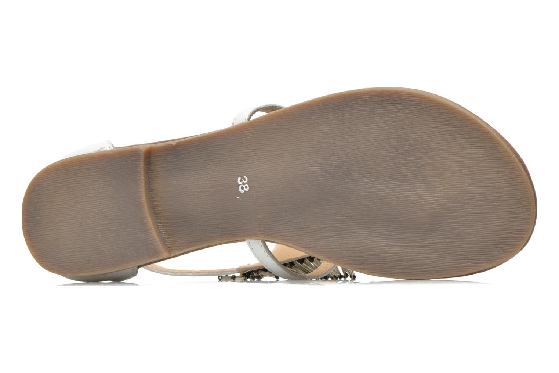 Sandales et nu-pieds Mustang shoes Hum Blanc vue haut
