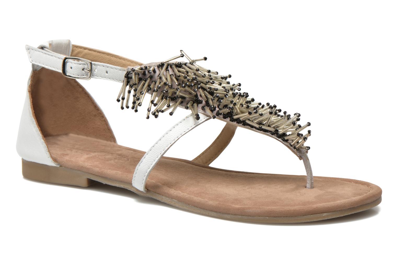 Sandales et nu-pieds Mustang shoes Hum Blanc vue détail/paire