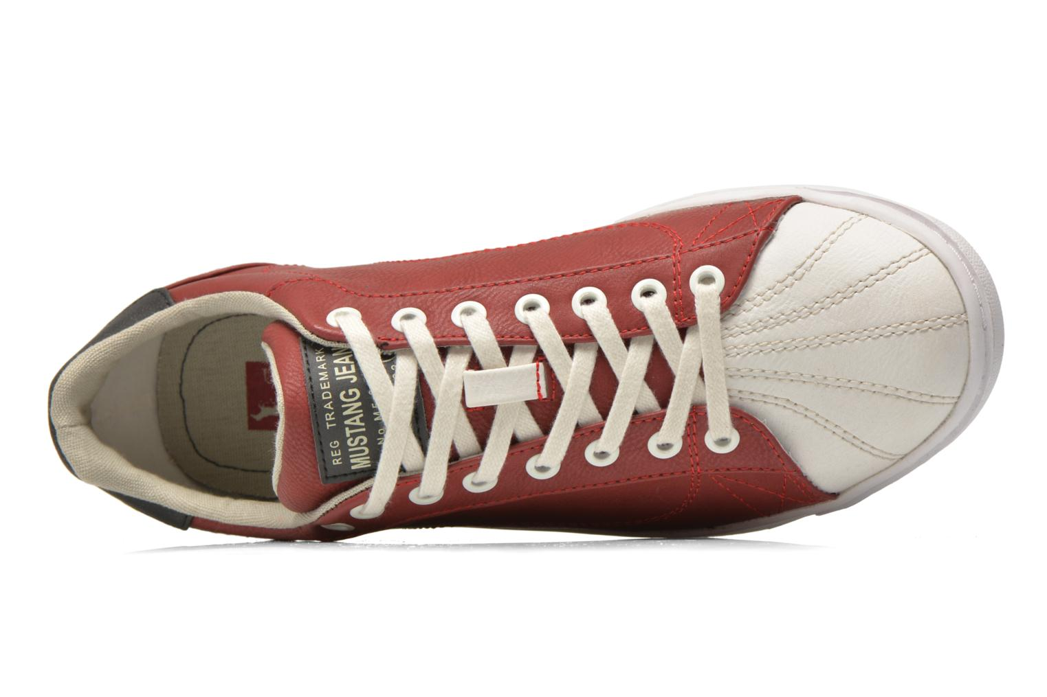 Sneakers Mustang shoes Walala Rosso immagine sinistra