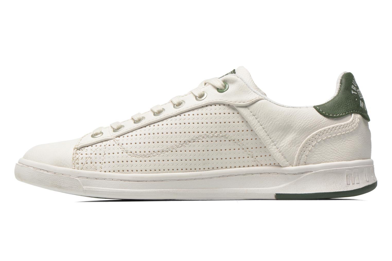 Baskets Mustang shoes Walala 2 Blanc vue face
