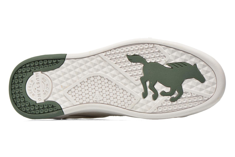 Baskets Mustang shoes Walala 2 Blanc vue haut