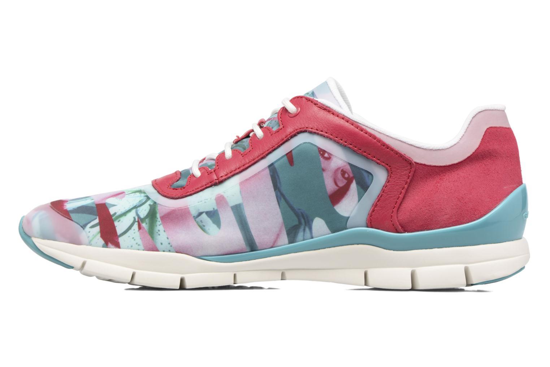 Sneakers Geox D SUKIE E D62F2E Rosso immagine frontale