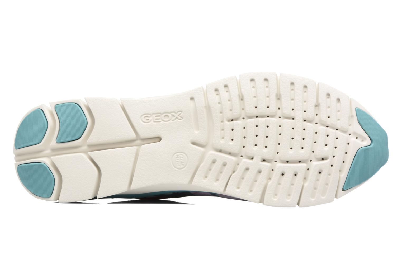 Sneakers Geox D SUKIE E D62F2E Rosso immagine dall'alto