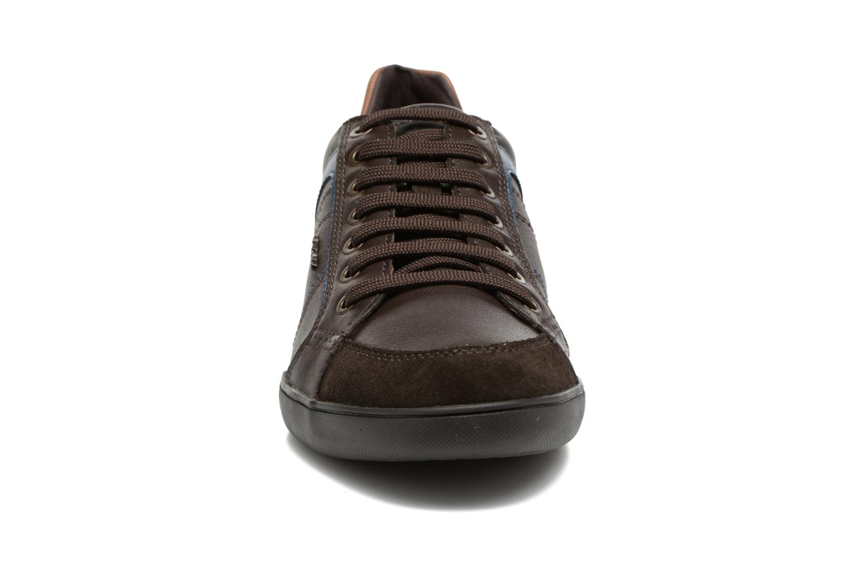 Baskets Geox U KRISTOF A U620EA Marron vue portées chaussures