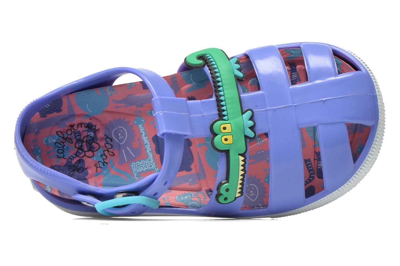 Sandales et nu-pieds Colors of California Jelly sandals CROCO Violet vue gauche